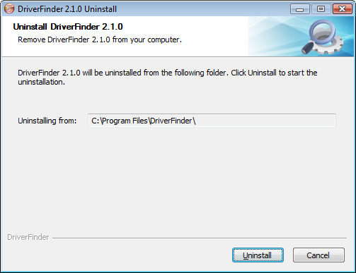 Remove DriverFinder